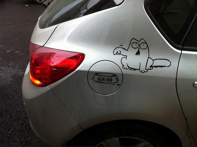 Simon's Cat sticker