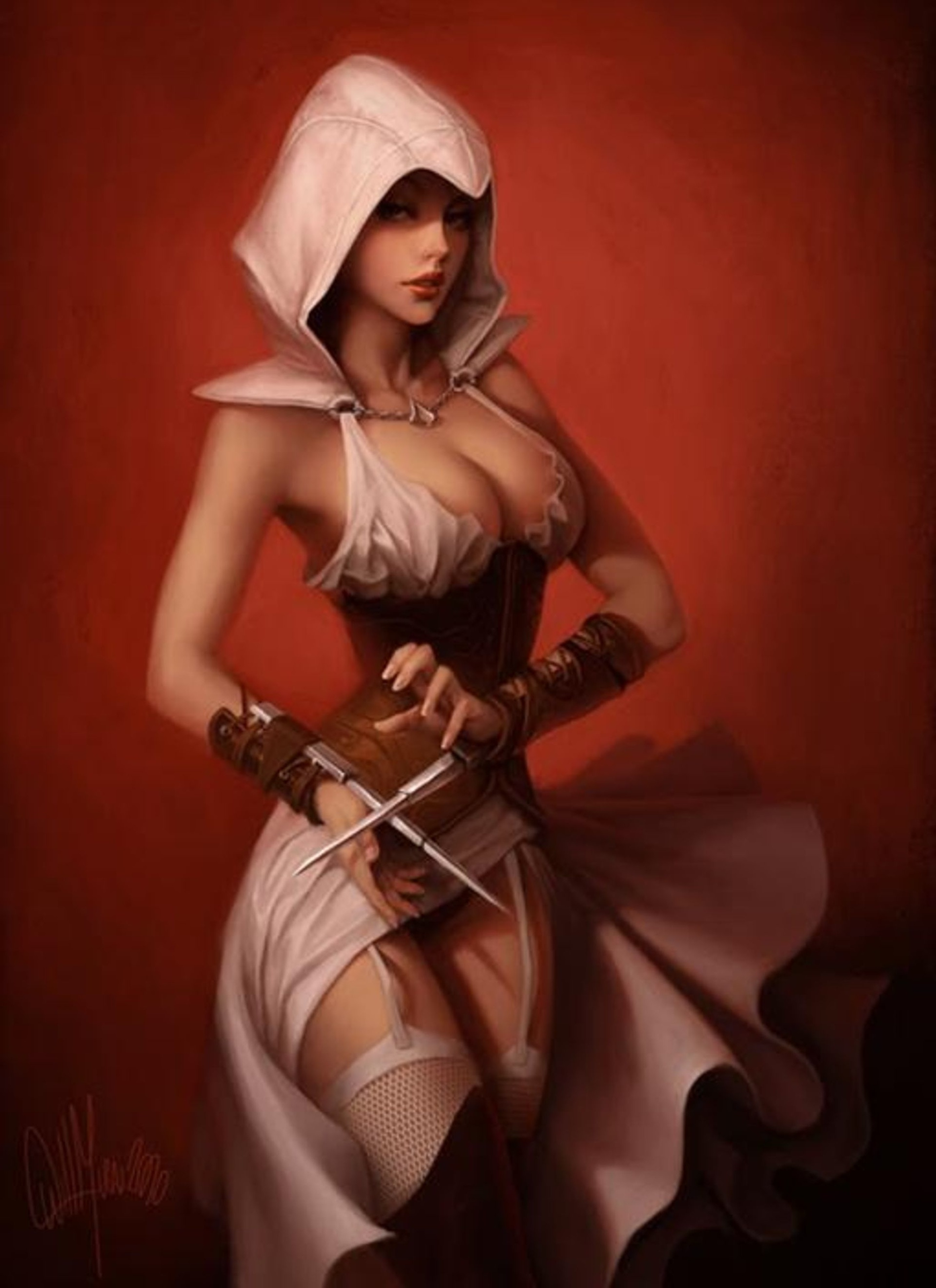 Assassin's creed female characters nude sexy videos