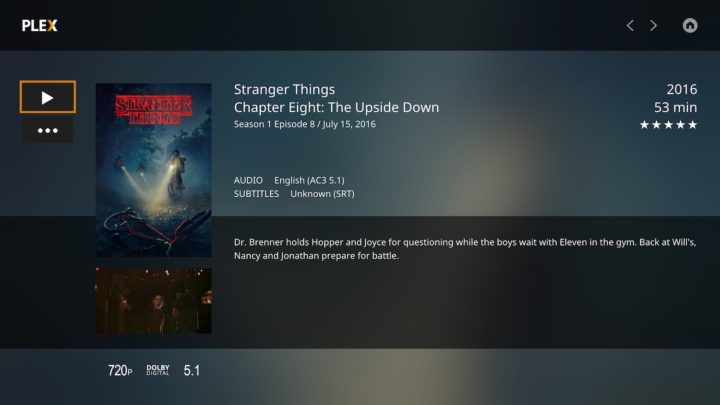 Stranger Things Plex